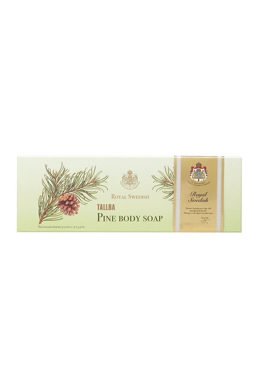 Victoria Soap Мыло для тела Tallba Pine «Шведская сосна» 3x100gr q rapha korean pine needle soap gift set 3 pack