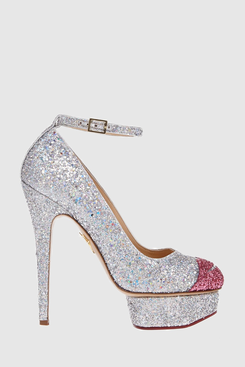 Charlotte Olympia Туфли Kiss Me Dolores! olympia le tan джинсовые брюки