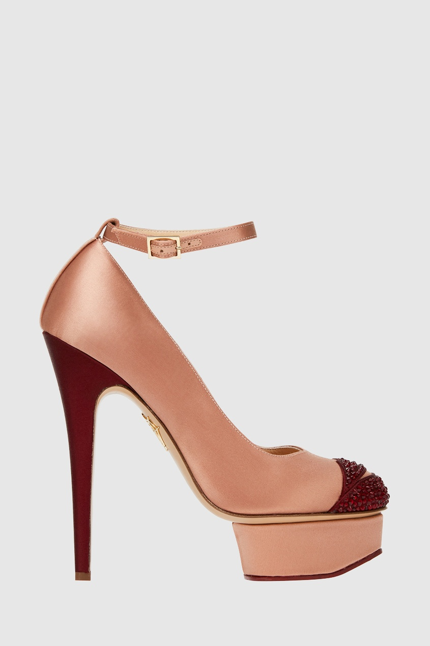 Charlotte Olympia Туфли Kiss Me Dolores olympia le tan джинсовые брюки