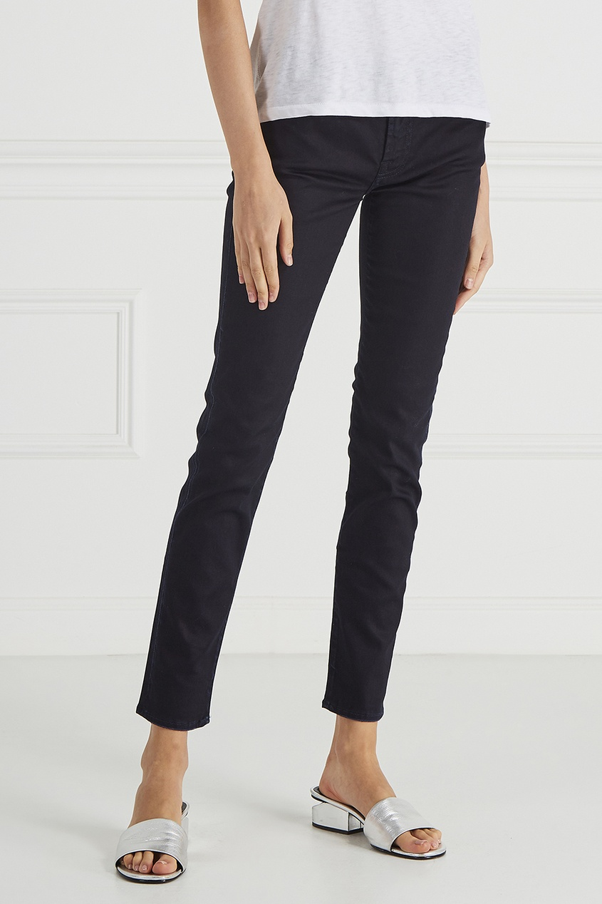 7 For All Mankind Фактурные джинсы 7 for all mankind джинсы the skinny