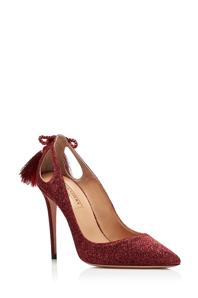 Красные туфли Forever Merilyn 105 Aquazzura