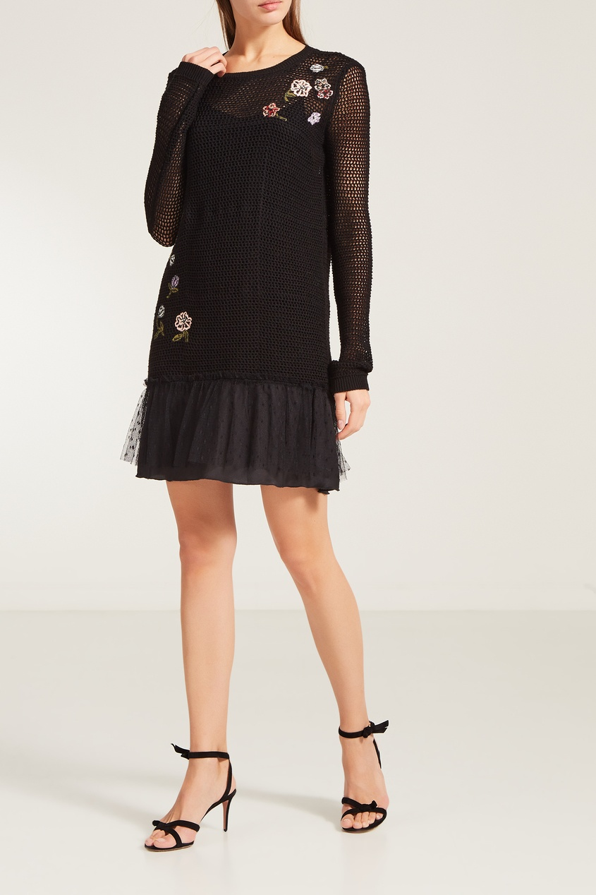 Мини платье Red Valentino 14598968 от Outlet