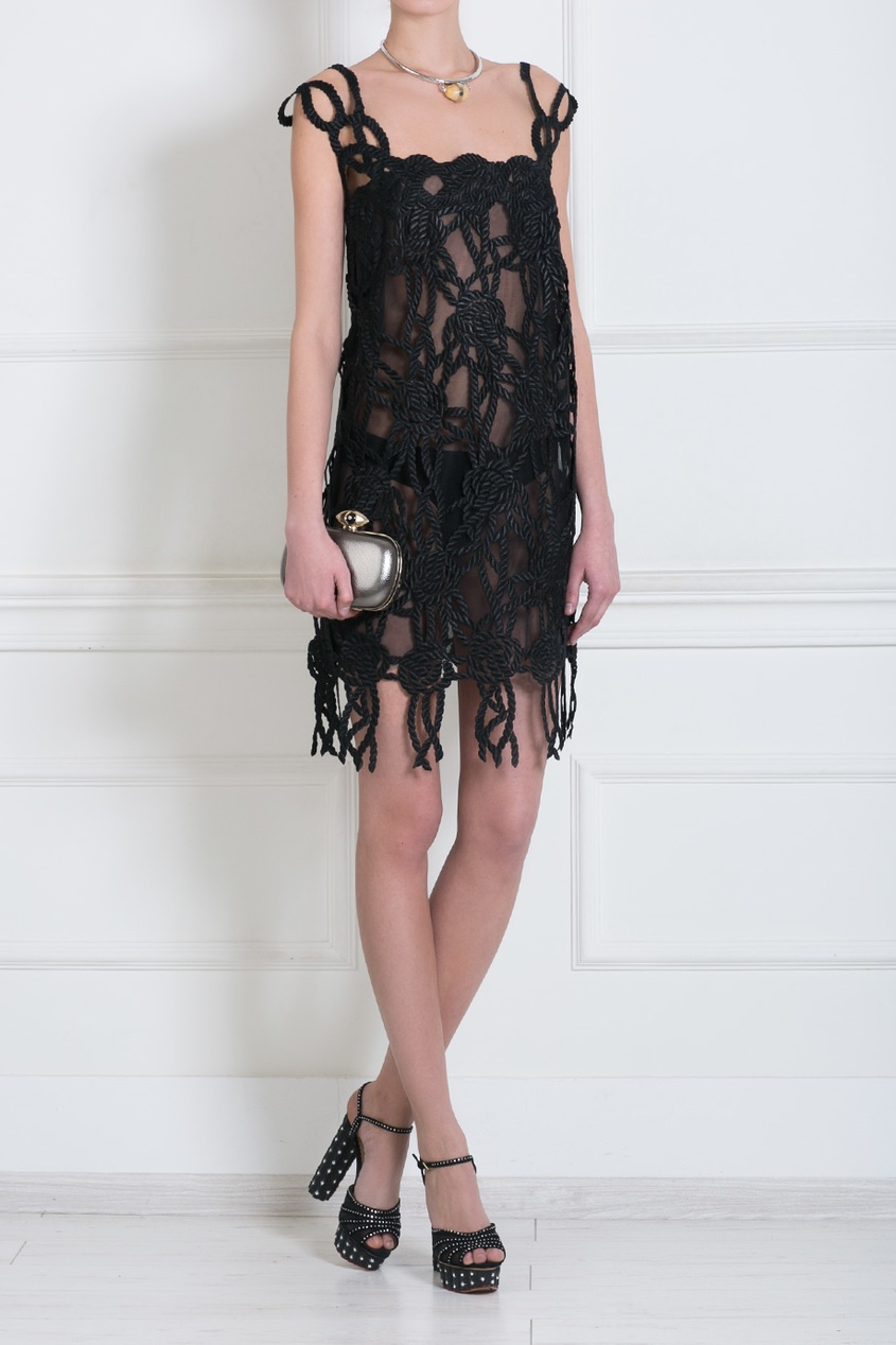 Мини платье Christopher Kane 15840359 от Outlet