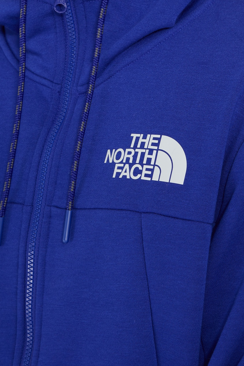 Фото 6 - Синяя толстовка Mountain Lite от The North Face синего цвета
