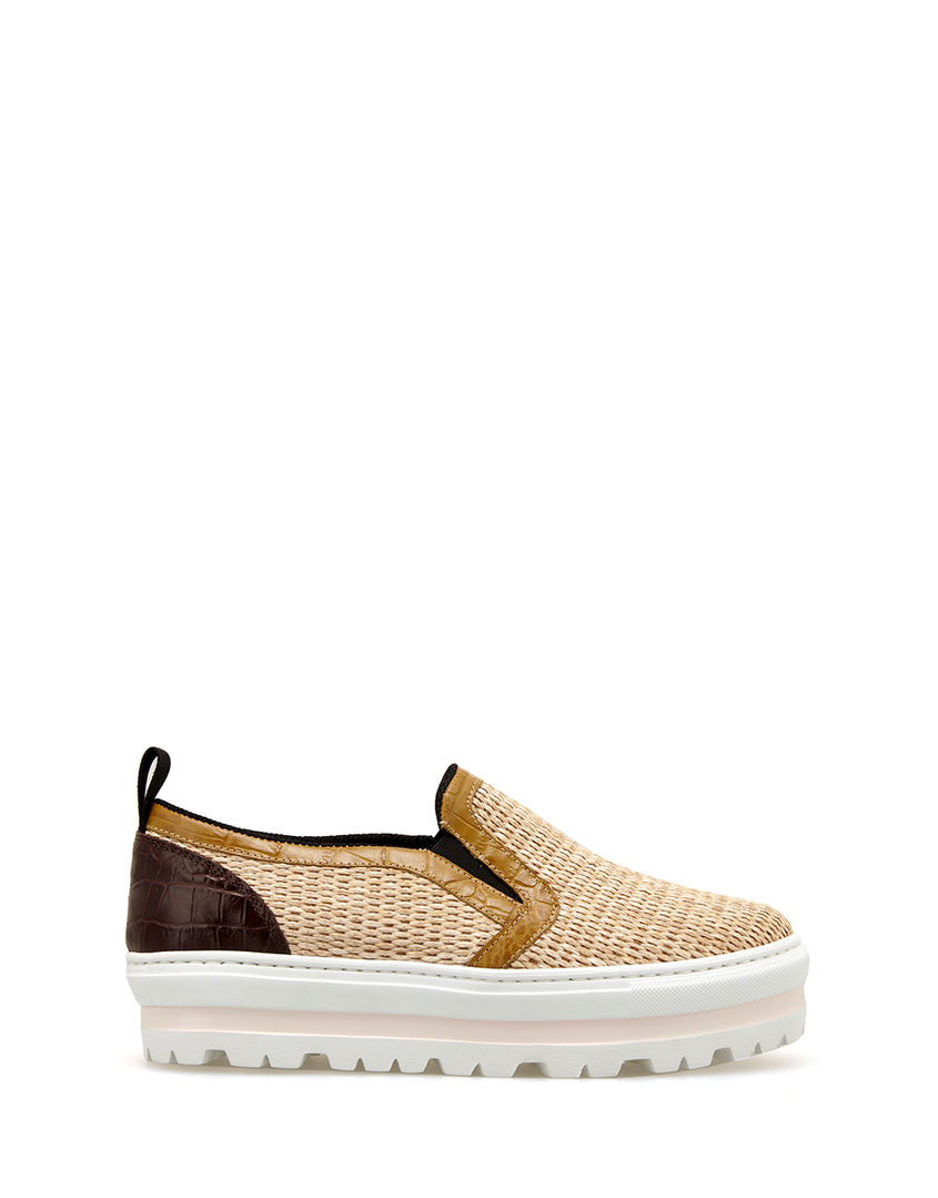 Слипоны Slip On Wedge